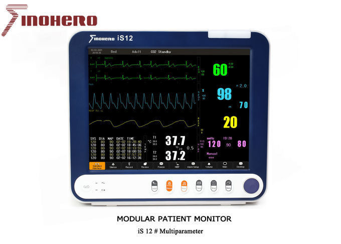 IS12 Semi Modular Patient Safety Monitoring System With High End Parameters